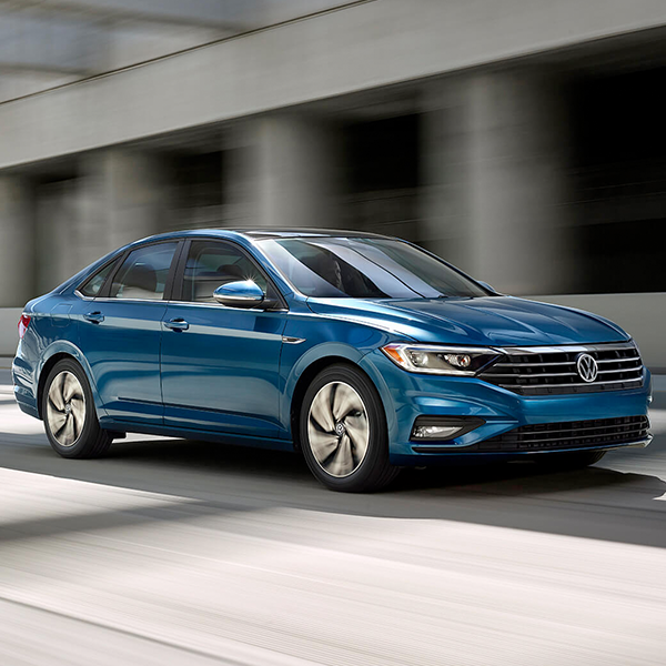 2020 VW Jetta blue