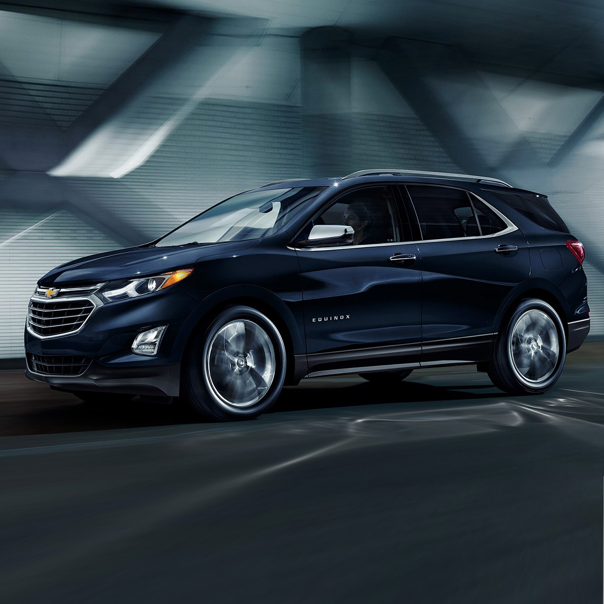 2020 Chevrolet Equinox in blue