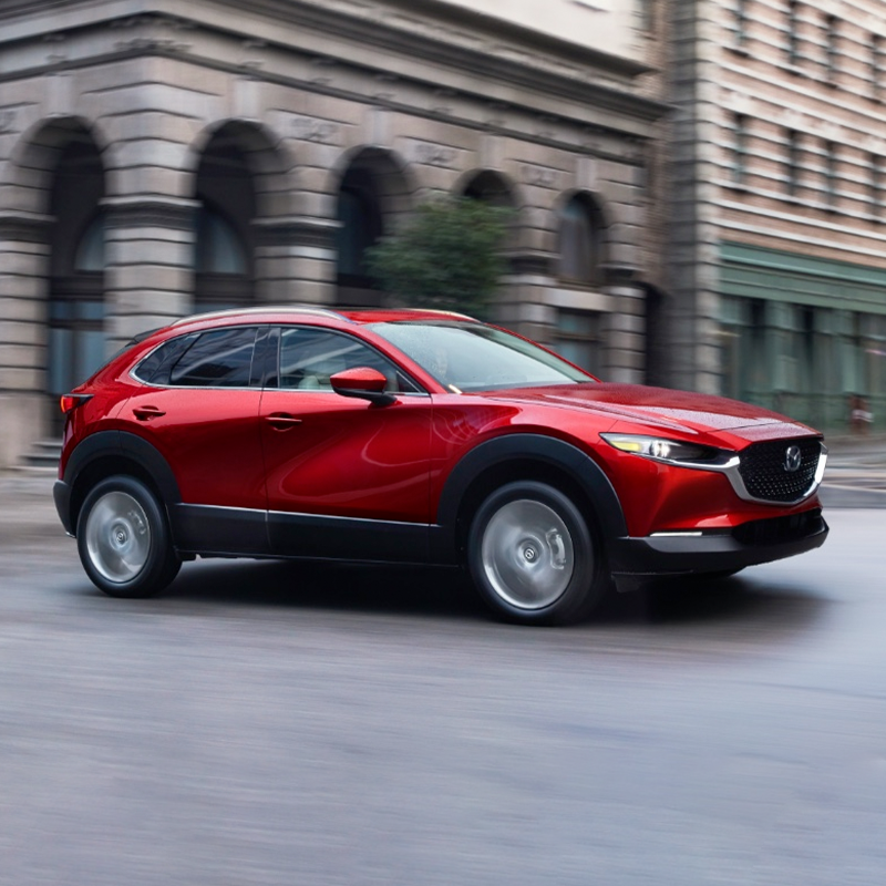 2020 Mazda CX 30 in red