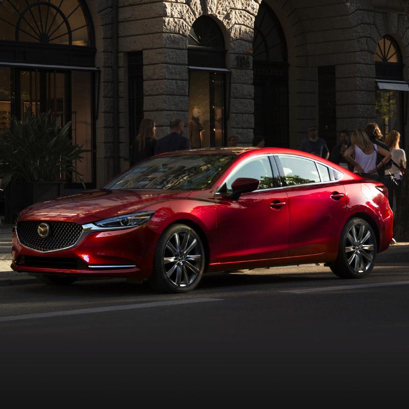2020 red Mazda6